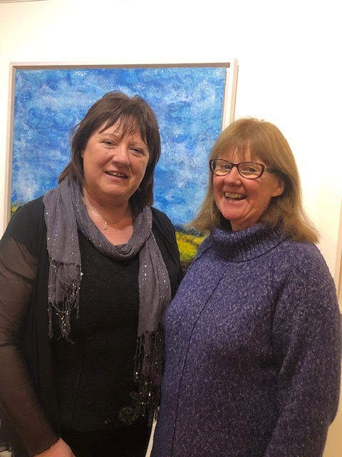 Marian O'Donoghue & Rosemarie Langtry at Solas Art Gallery 15.jpg