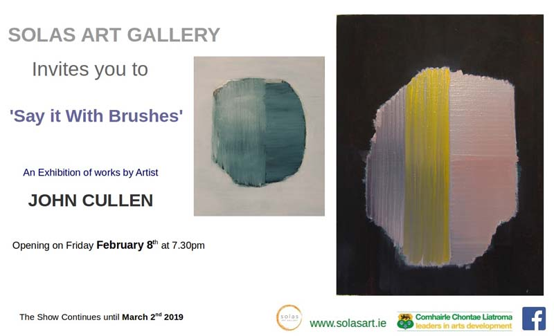 john cullen'say it with brushes' -