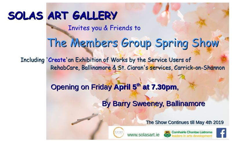 Spring Group Exhibition 2019 — Solas Art Gallery