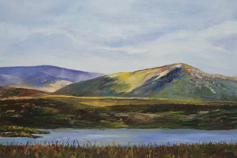 'A fine day in Donegal', Eimer Lynch, oil on canvas.jpg