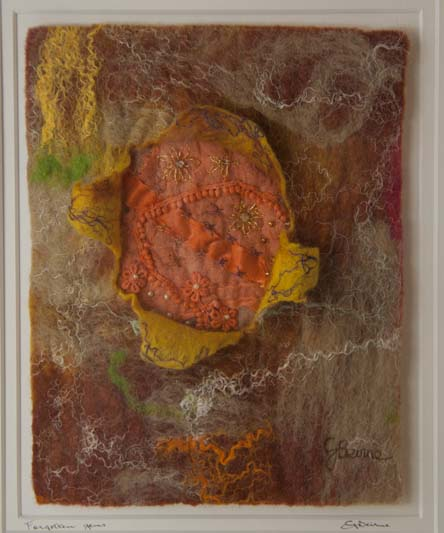 'Forgotton Gems', Geraldine Beirne, wet felted wool & silk fibres & embroidery.jpg