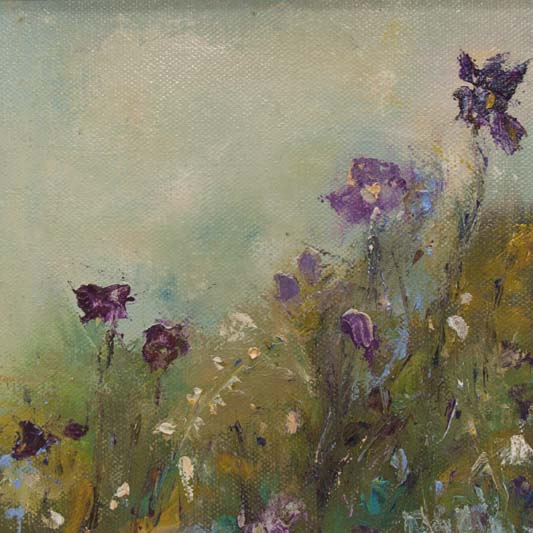 'Wildflowers', Marian O'Donoghue, oils.jpg