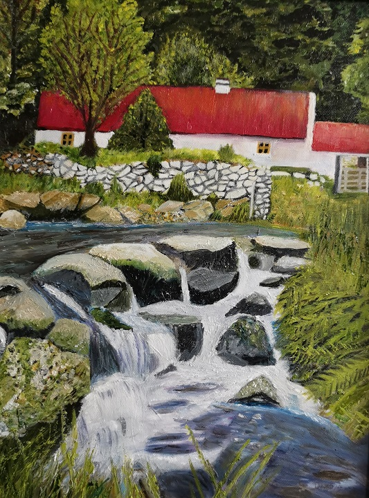'River Sanctuary',Grace Dixon,Oil on canvas.jpg