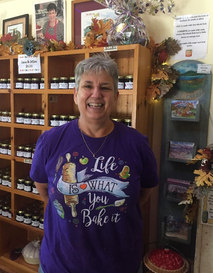 Meet Monica, owner of Monica's Pies in Naples, New York.