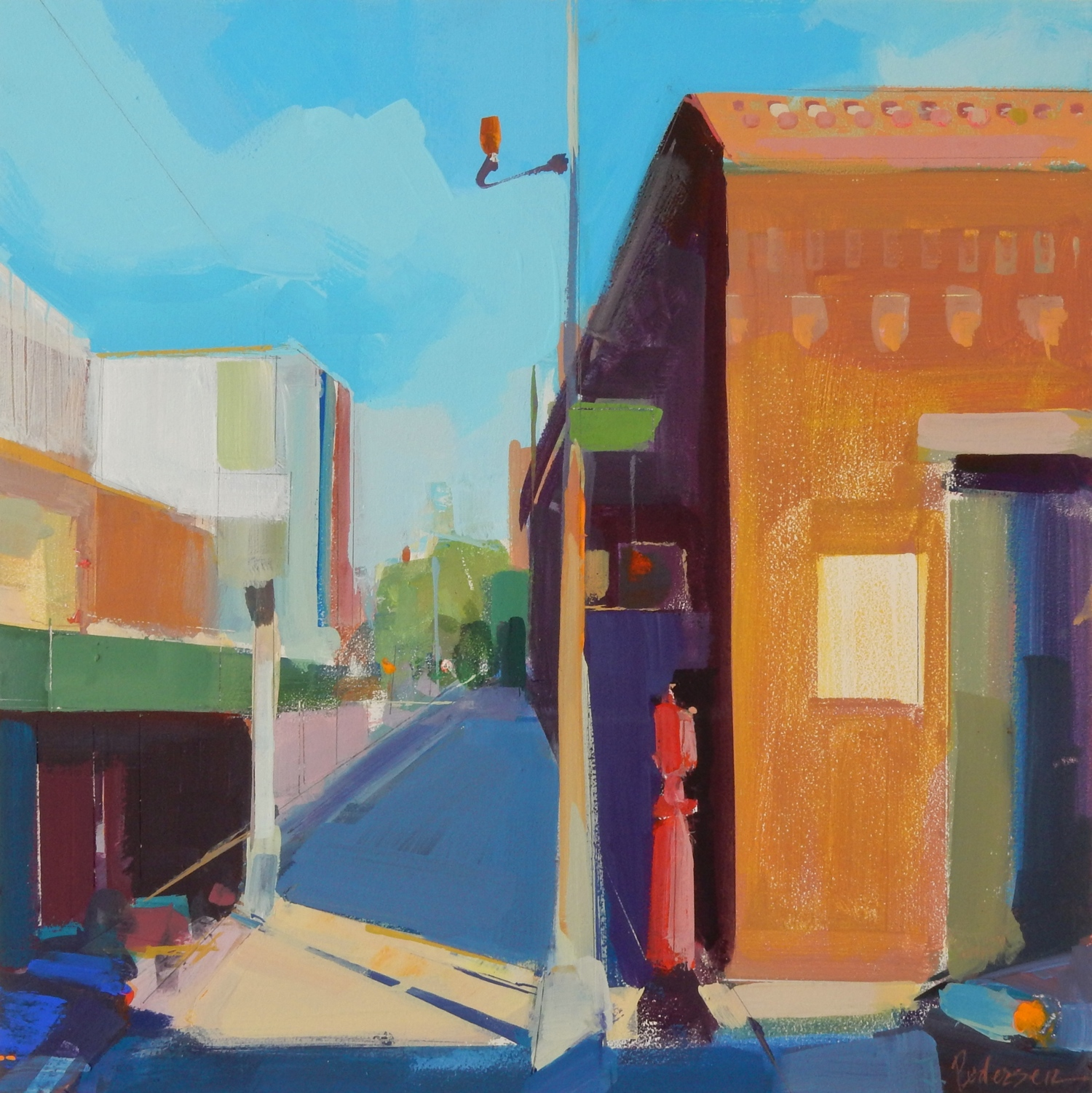 3rd Ave. Gowanus - My 'Brooklyn Neighborhood' series up In the Project Space at 440 Gallery.(440 Sixth Ave., Brooklyn NY 11215)May 31st to July 1st.