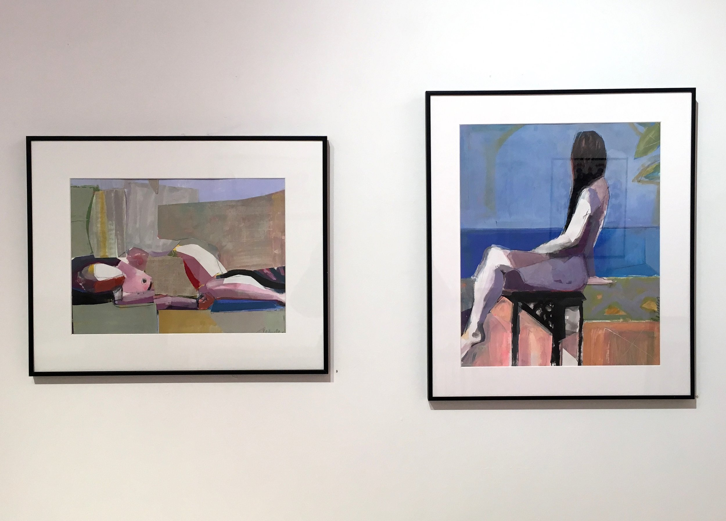 Figurative Collages - On display through Feb 11, 2019 In the Project Space at 440 Gallery. Come see!