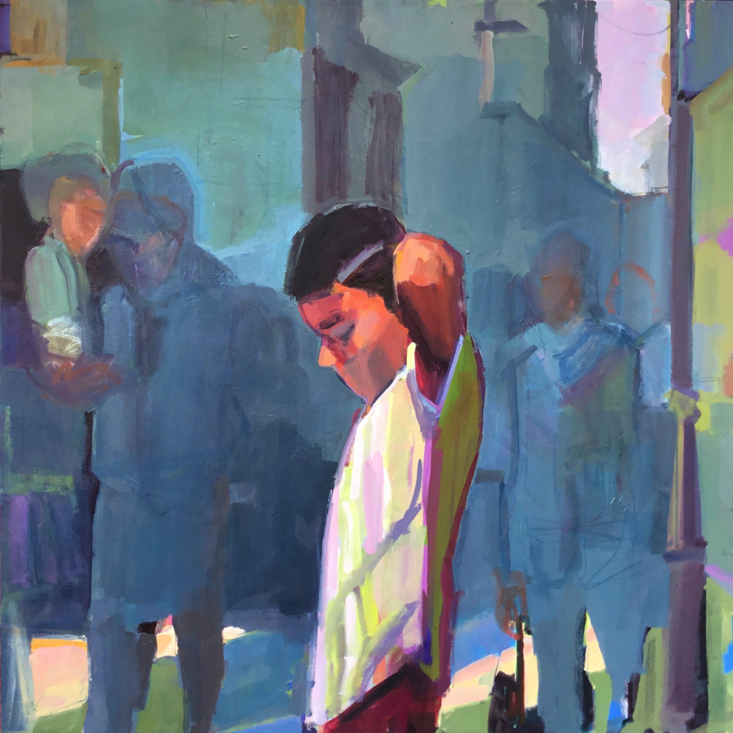 Boy.  Oil on Canvas. 2018