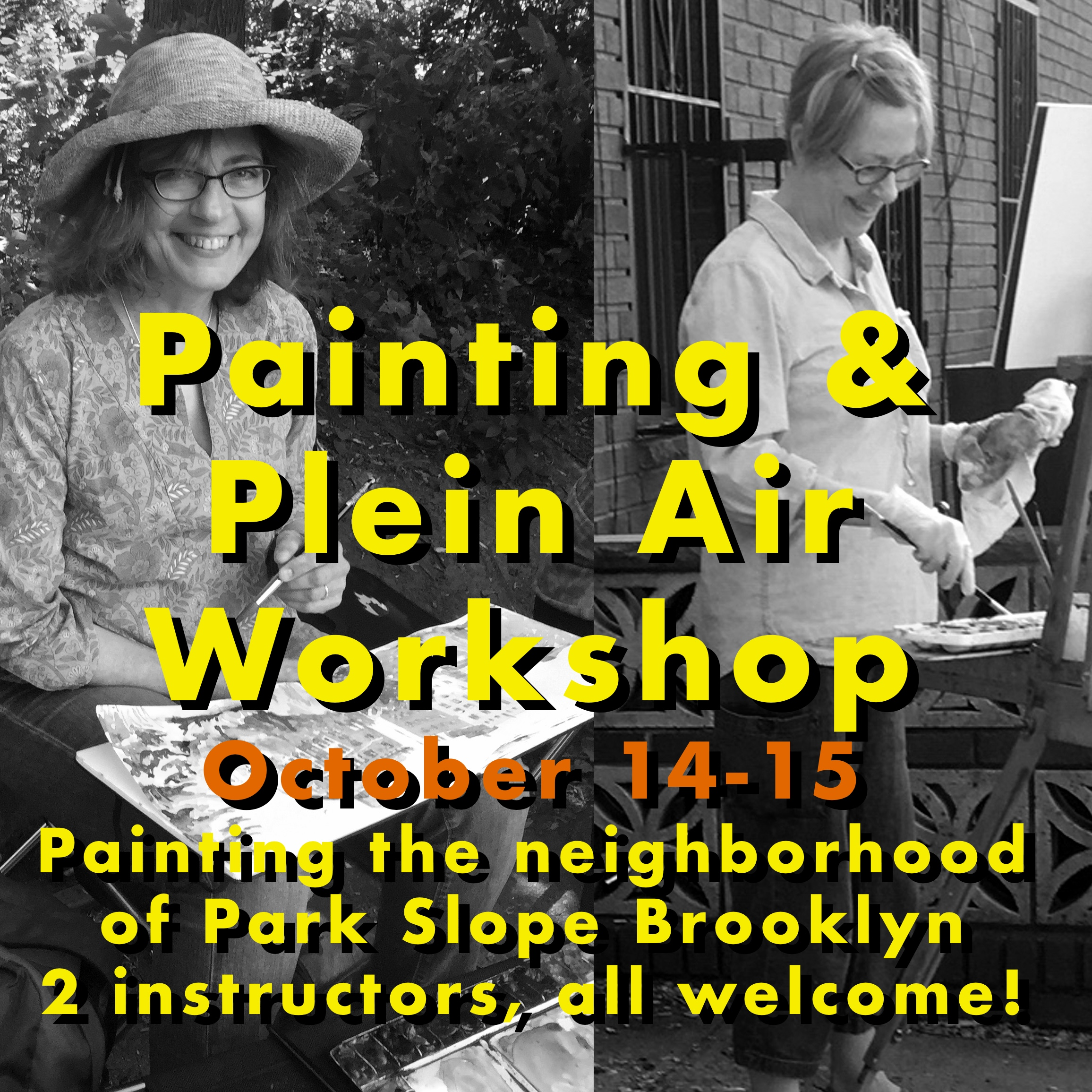 Fall workshop! - A 2 day workshop packed with tips, support and fun!