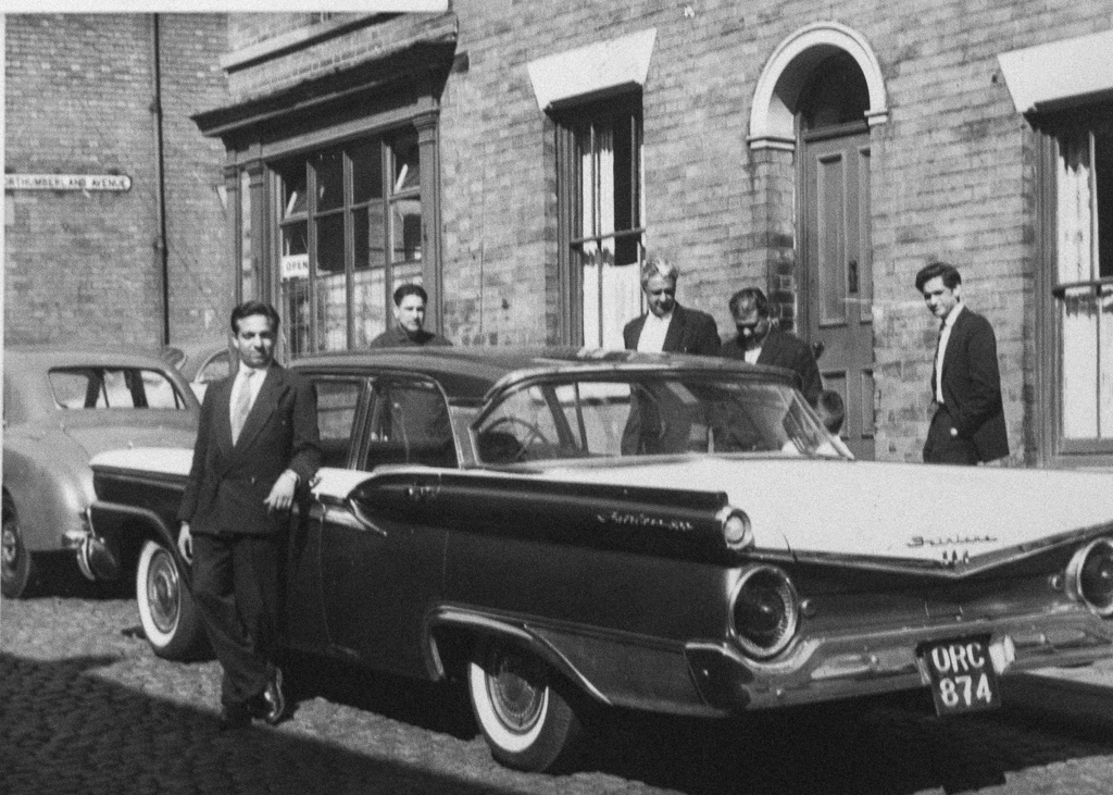 Indian Workers in Nottingham, 1959
