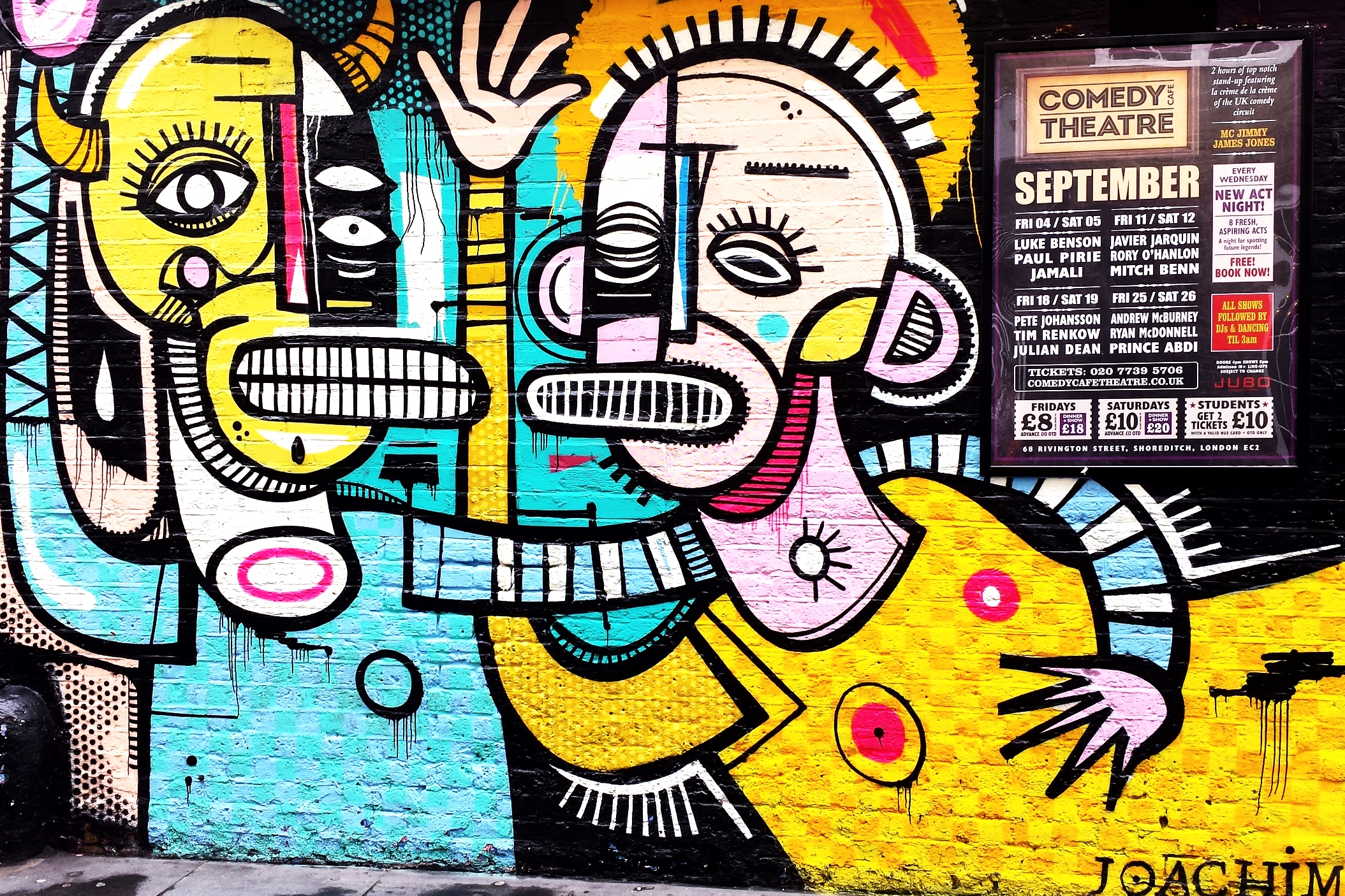 STREET ART - A Connoisseur's Walking Tour of East London