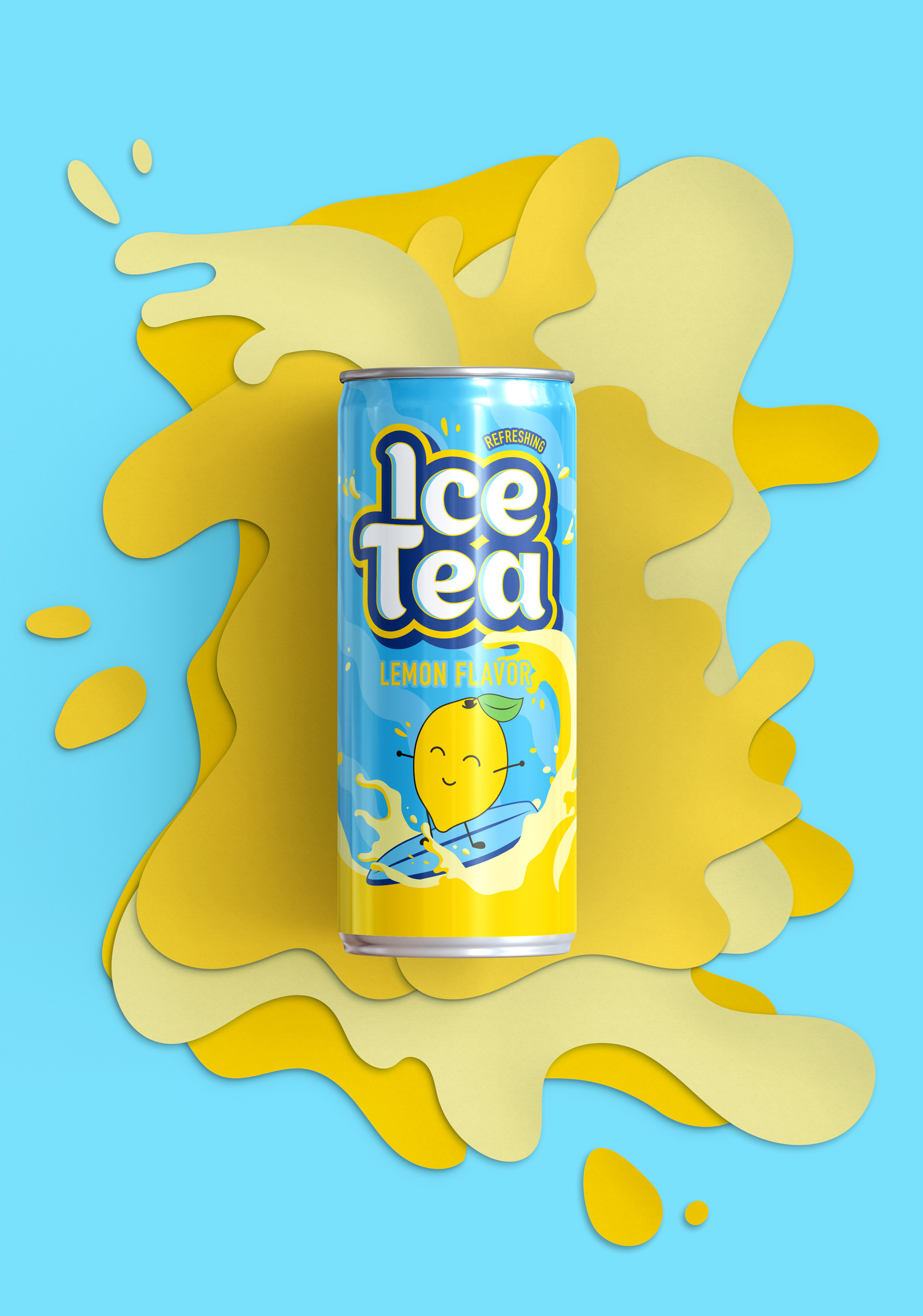 Ice Tea  PACKAGING DESIGN