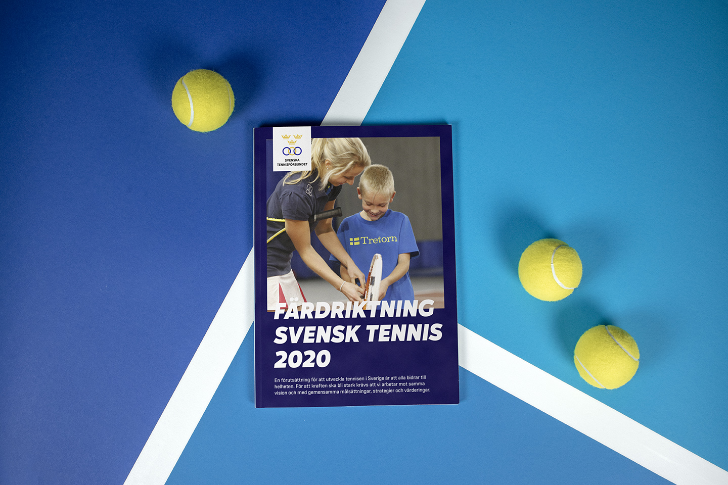 Svenska Tennisförbundet  CONCEPT AND GRAPHIC IDENTITY