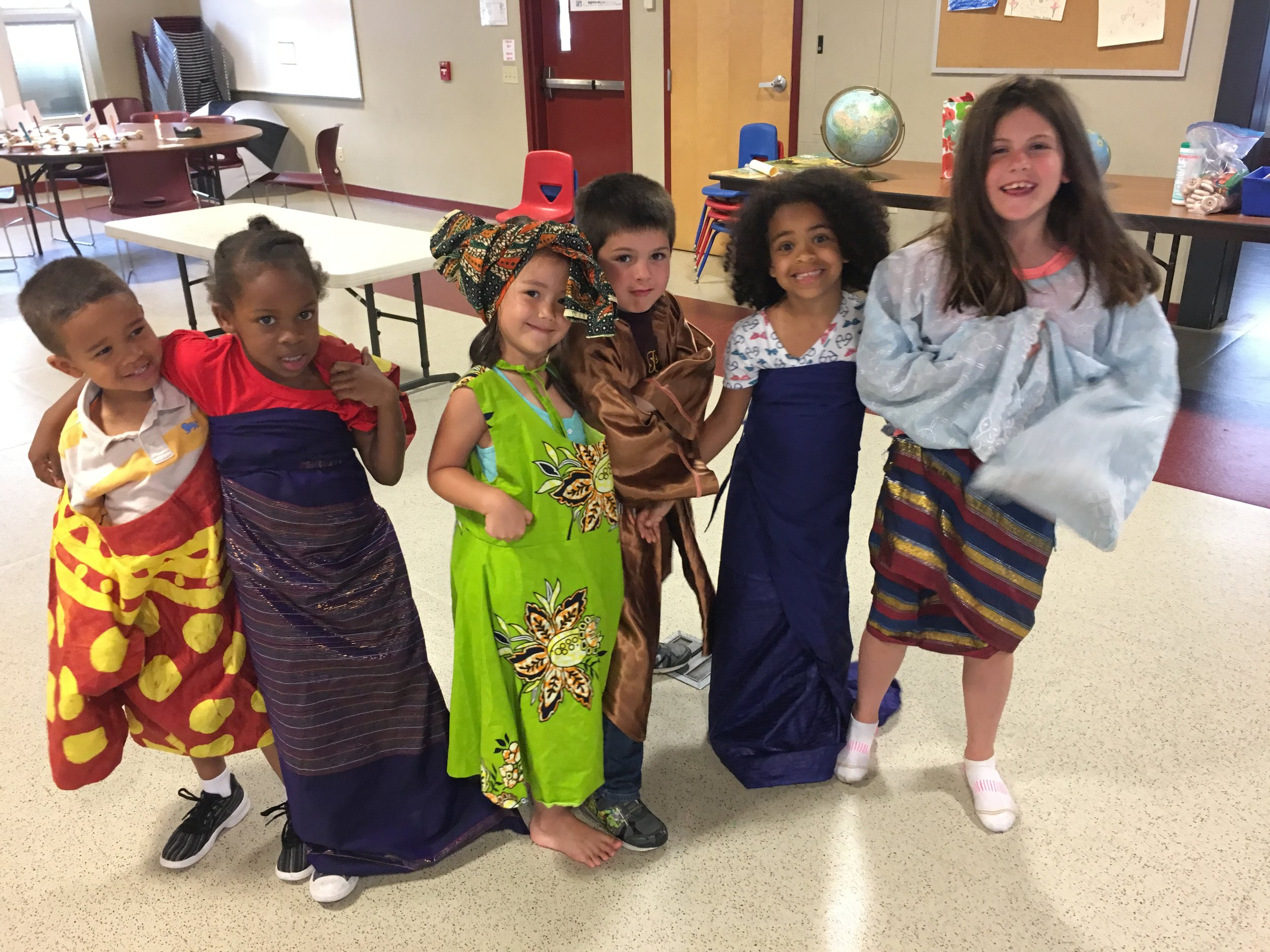Weekly Themes - Each week campers will explore stories and songs, create artwork, and make and bake foods from countries from around the world. Past cultures of focus have been East Africa, China, Central America, and India.