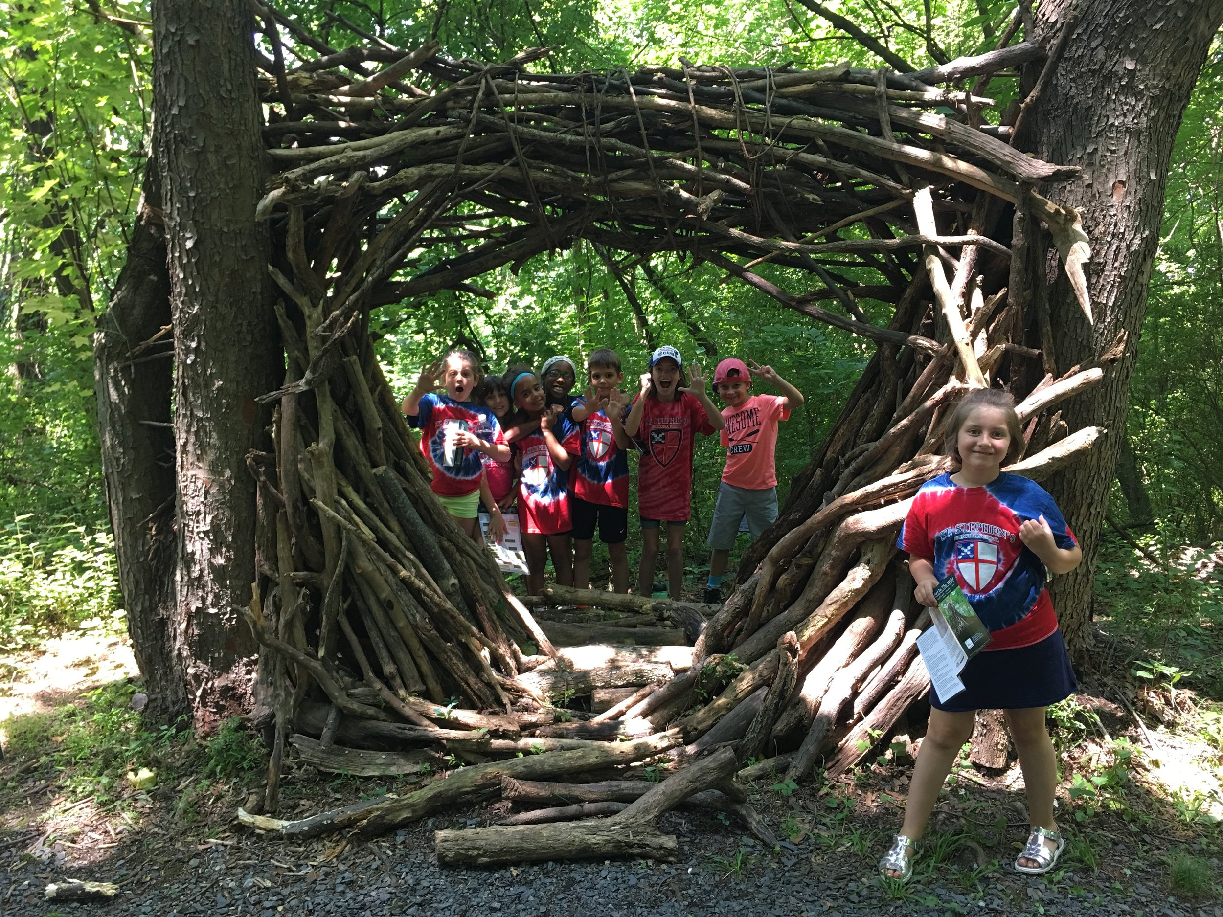 Off Campus Field Trips - Campers take weekly field trips to locations within and outside of the city. Past trips have included Wildwood Park, the Susquehanna Art Museum, Indian Echo Caverns, and the Whitaker Center. Campers also make weekly park and swimming trips.