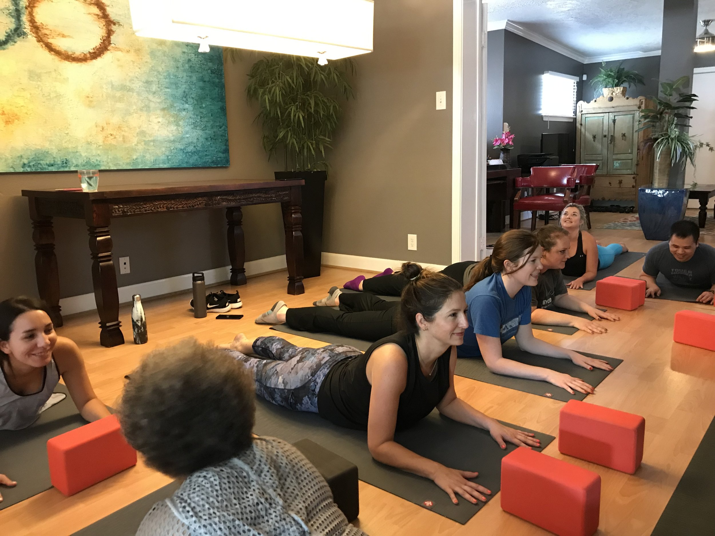 """""""If your business could also benefit from time for the staff to reset and regroup, then I highly recommend Yoga Balance."""" - Hazem Ahmed"""