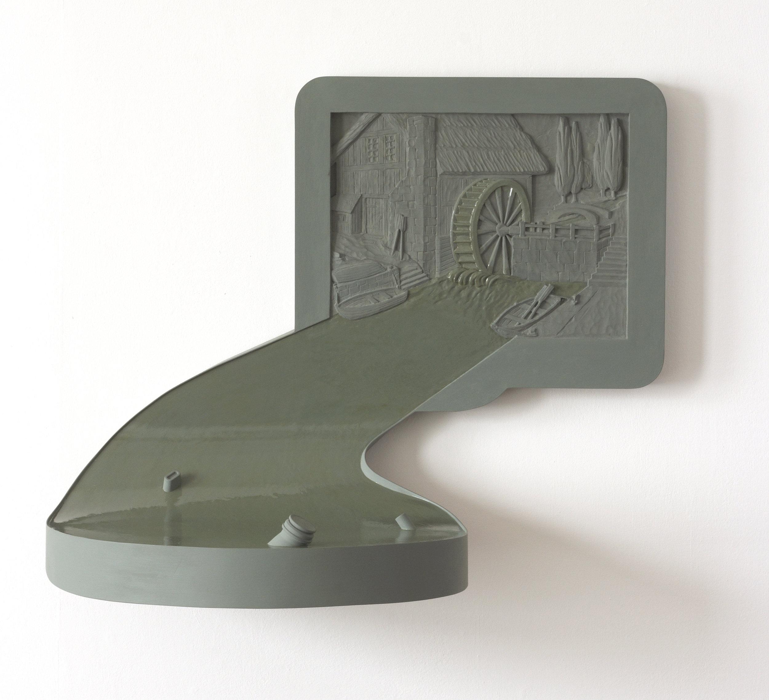 At Dusk   (1994-95) 60 x 50 x 55 cms