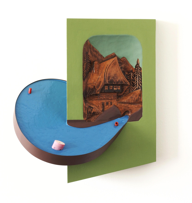 Gush (1992) 39 x 36 x 25 cms