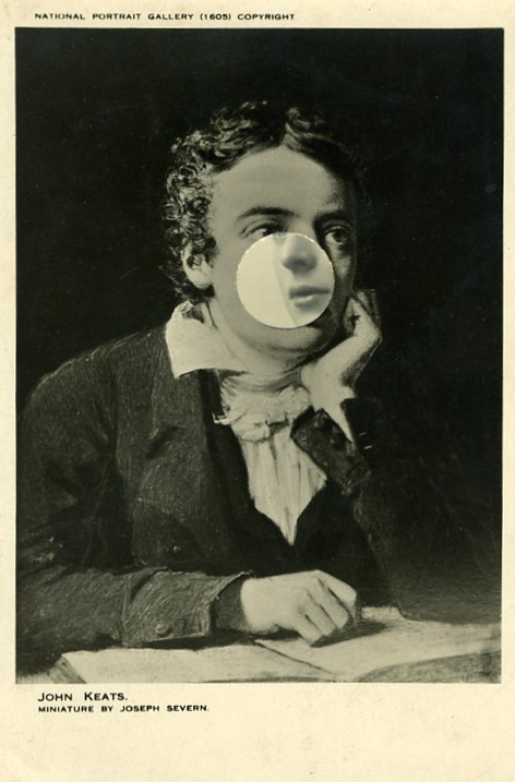 John Keats (2009) 21 x 16 x 4.5 cms (framed)