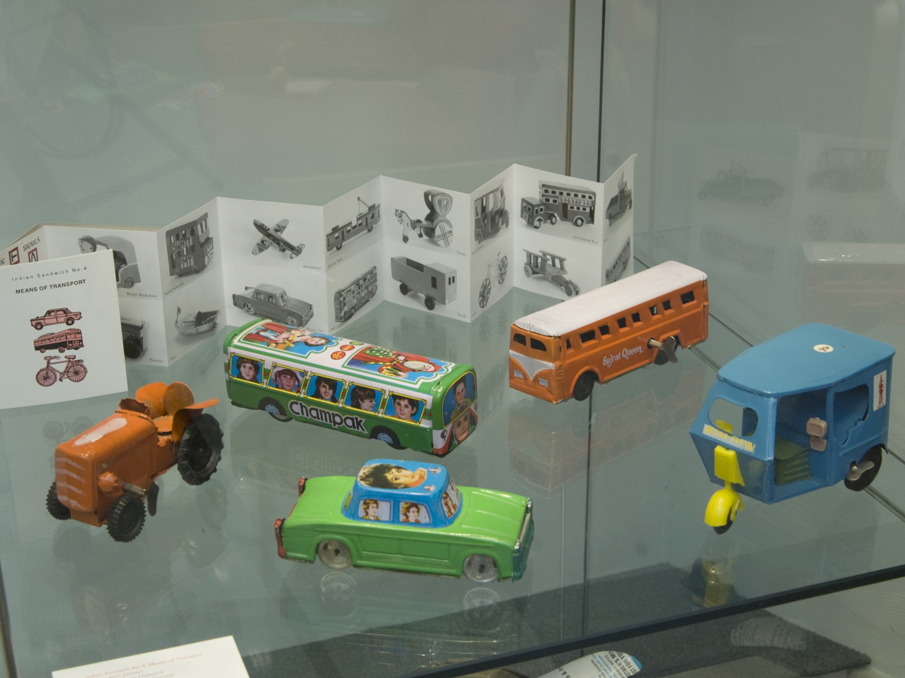 Display of Indian collection and publications.Royal College of Art Library, London