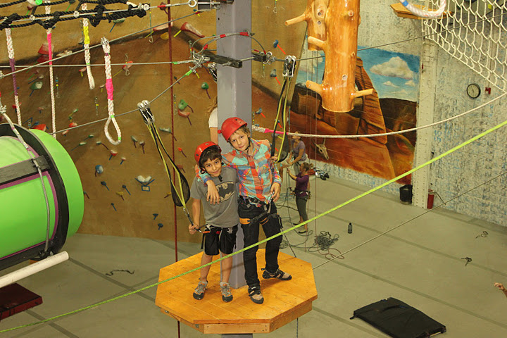 Challenge Course - The high ropes challenge courses are motivational,educational and developmental. These challenge courses not only promote new experiences, but also help develop skills such as resiliency and self-esteem.