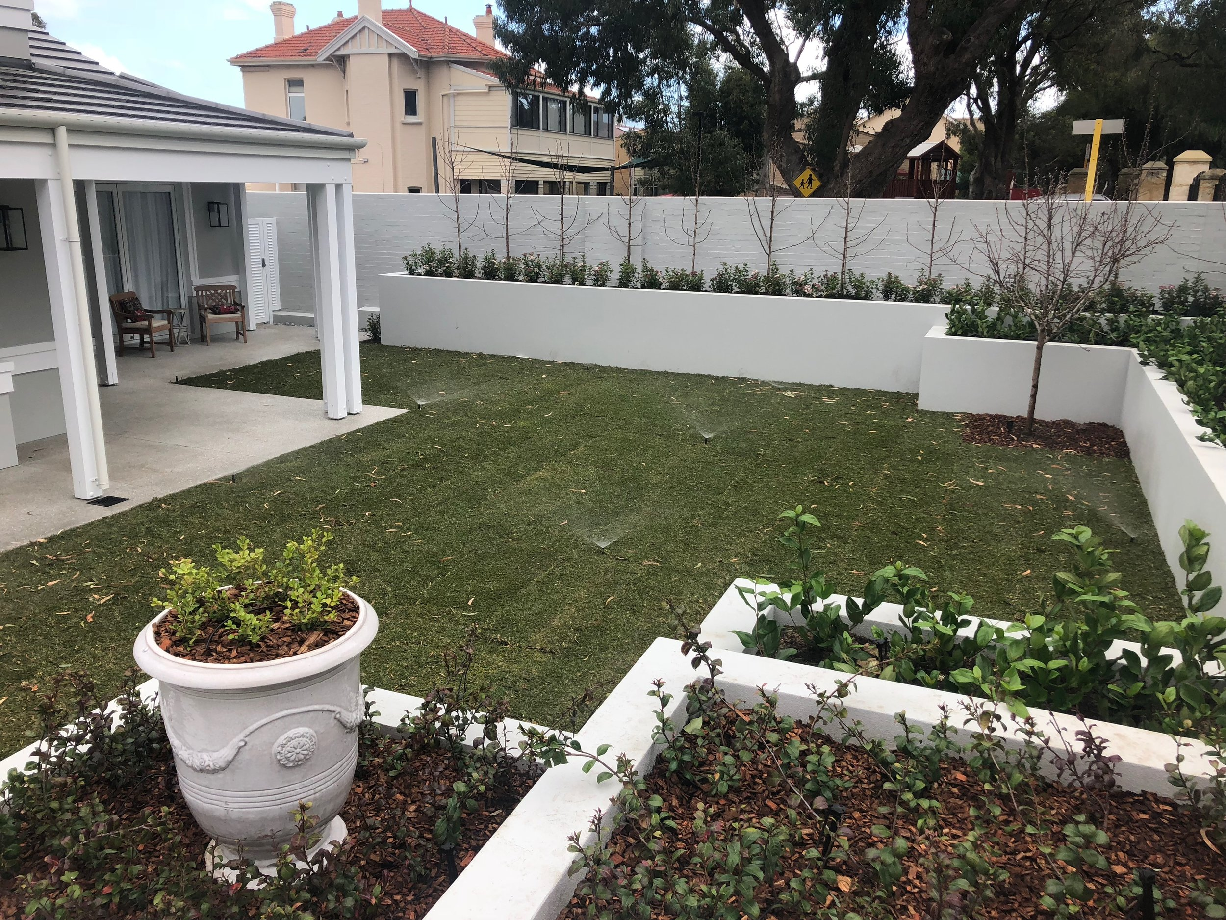 Lawn installation Perth