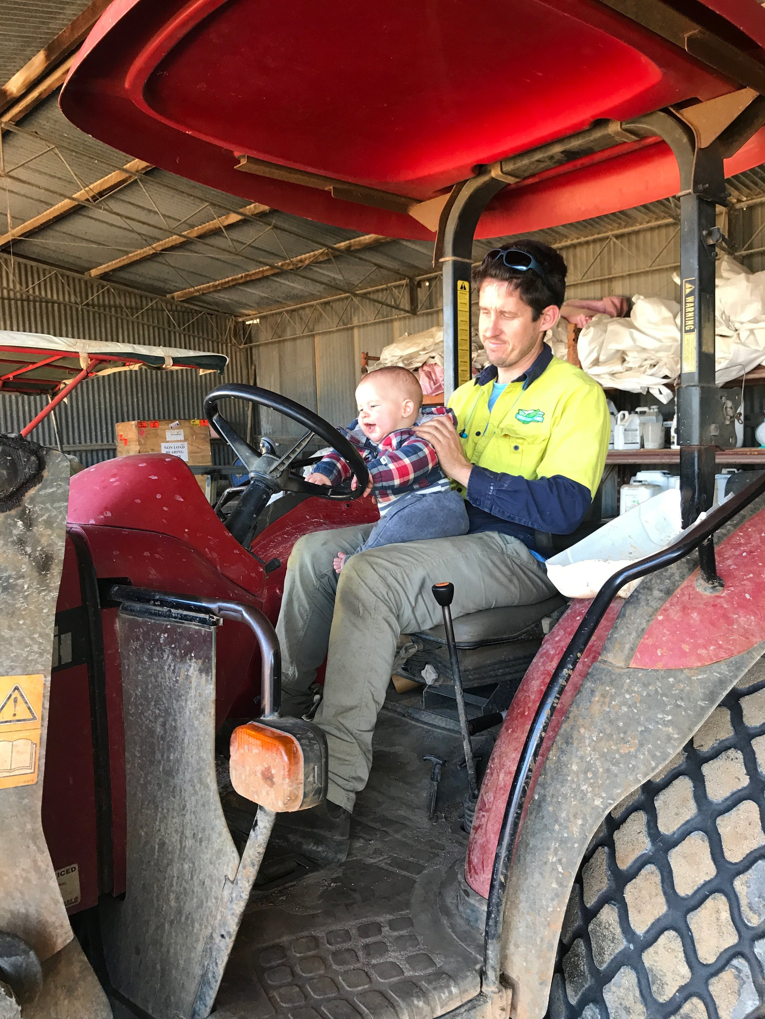 Father & Son Turf Farmers