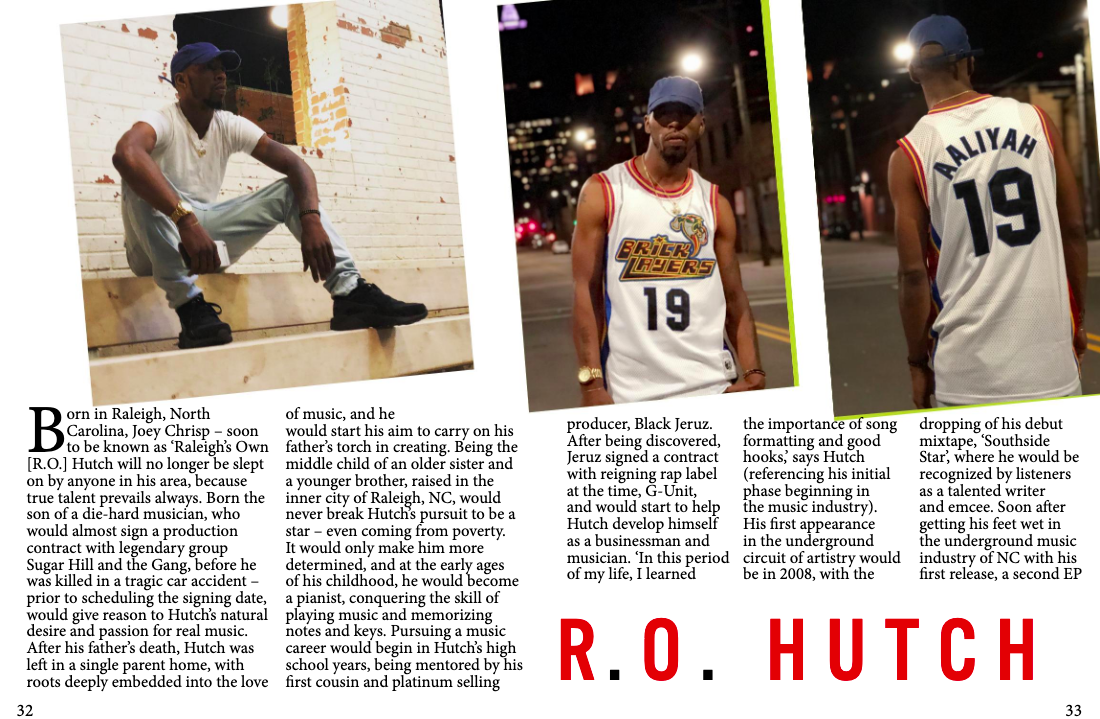 """WE ARE JERSEY MAG"" - Raleigh's represented all the way in New Jersey! Read up on Raleigh's Own R.O. Hutch in the article published by We Are Jersey Magazine!"