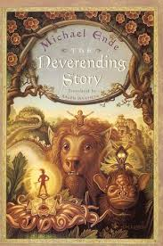 the neverending story - This is a really good book. A boy goes into a story. There's action, adventure, scariness... But, best of all, there's no yucky-lovey stuff! I love this book and I think you will, too!