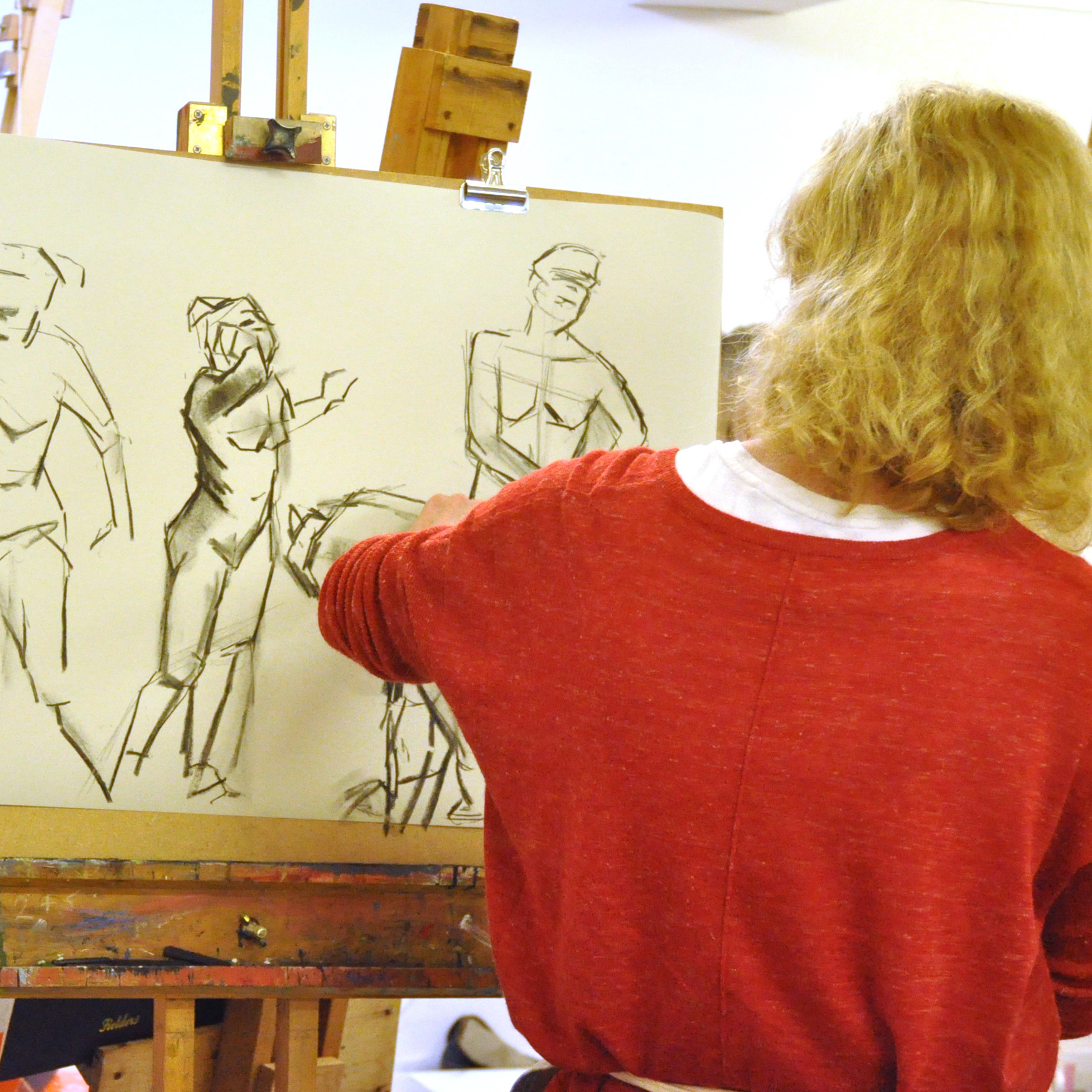 Life drawing & oil painting with Idun Eustace - Idun's popular life drawing classes will return this Spring and she's currently taking bookings for oil painting courses.