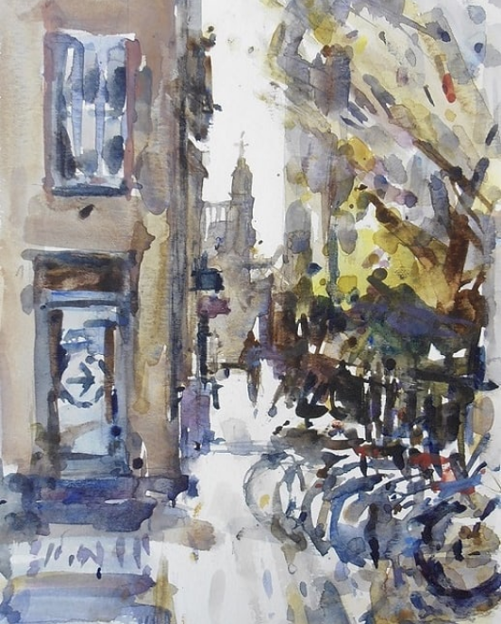 A Glimpse of King's College, Andrew Horrod