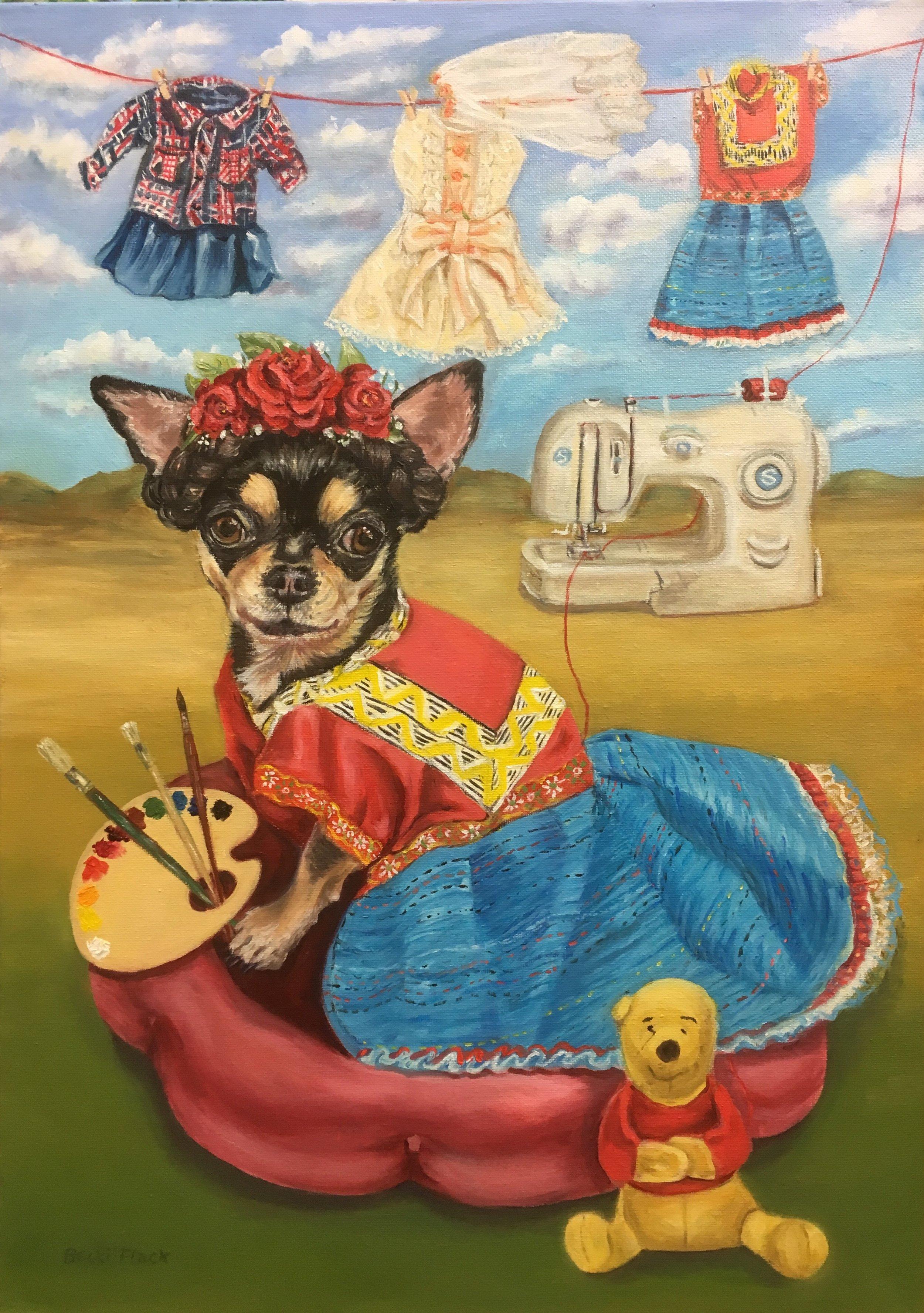 Homage to Frida, Becki Flack