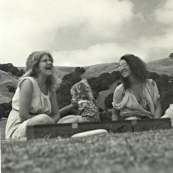 Lolly Lewis, Denise, and her daughter Tora Jewkes