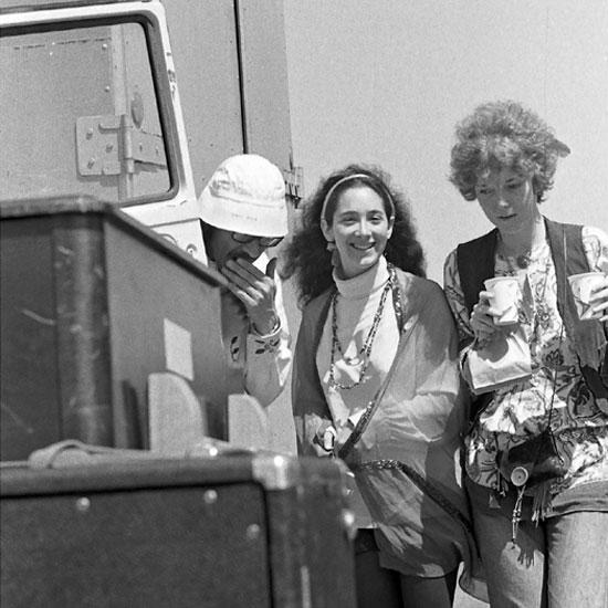 Ron Polte, Denise, and Liz