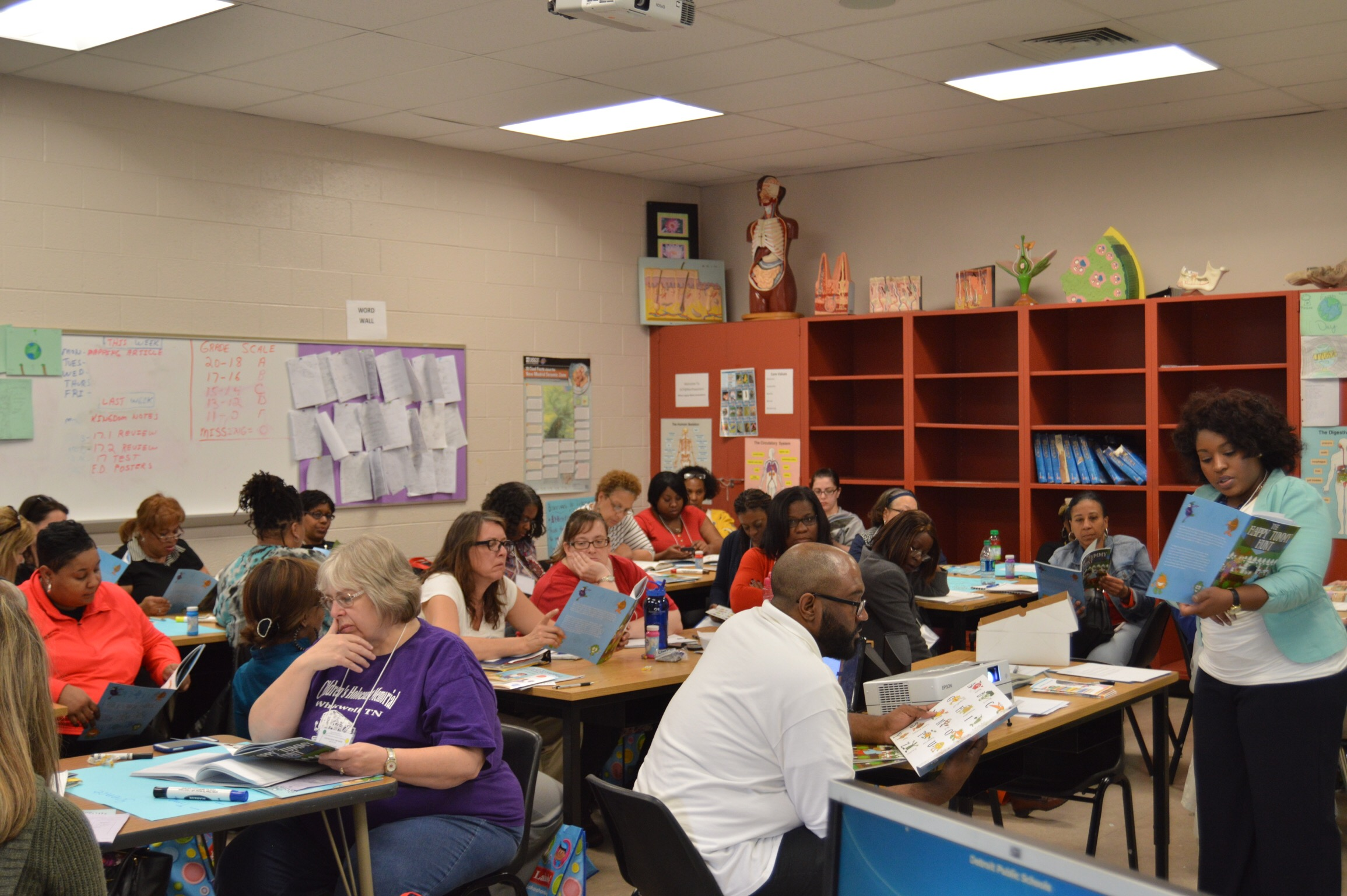 Detroit Public Schools Workshop for Educators -