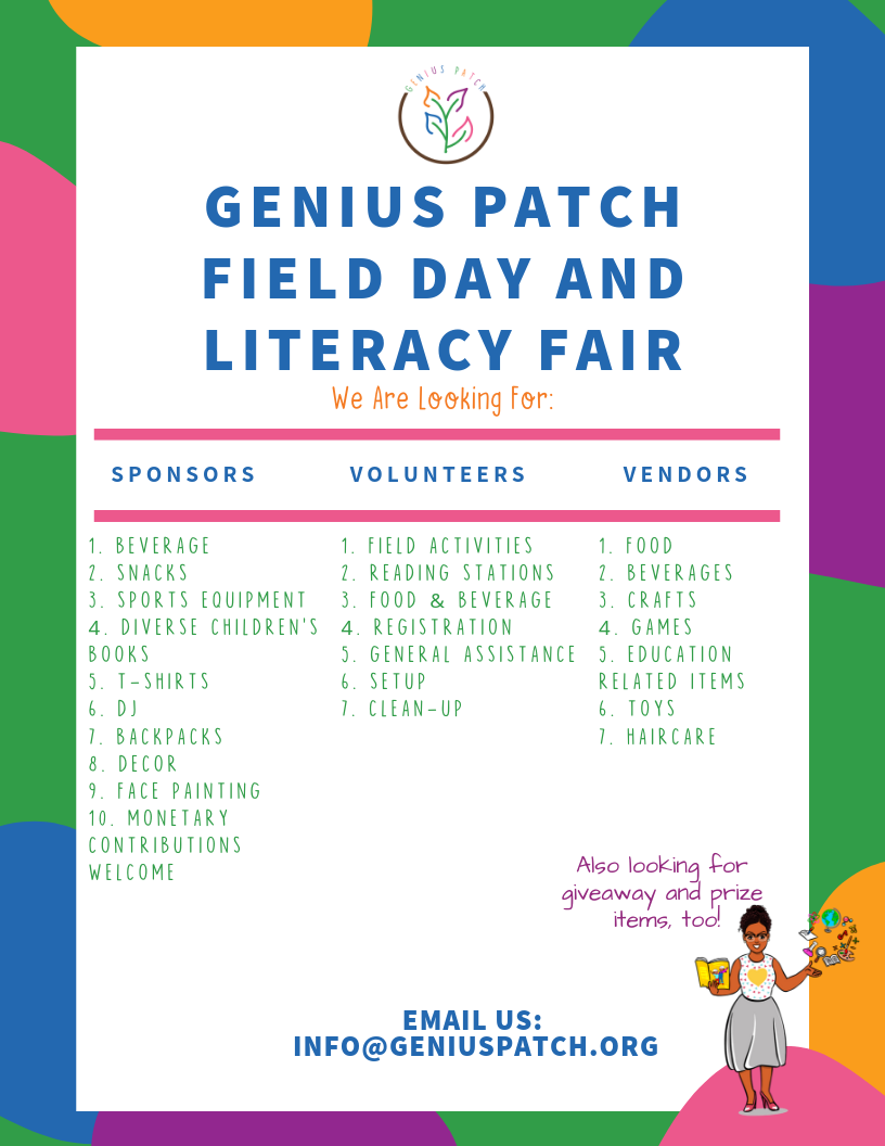 Genius Patch Field Day & Literacy Fair Flyer (1).png