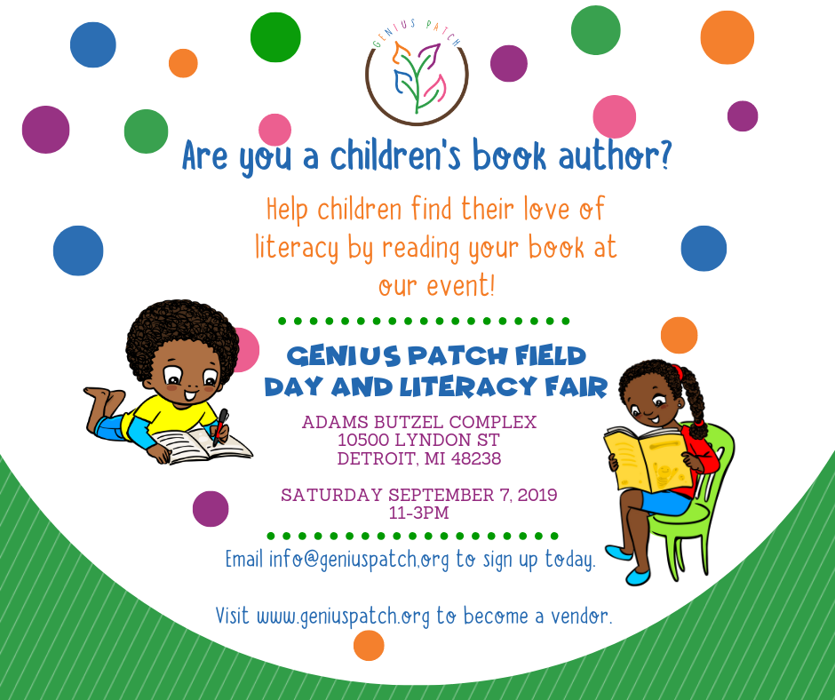 FB Author Request for Genius Patch Field Day and Literacy Fair (1).png