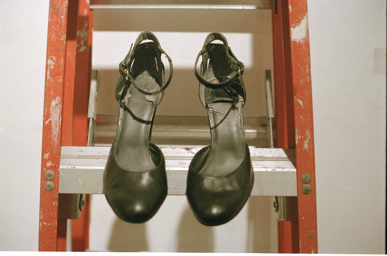 Morgo Show opening Night Morgo shoes.jpg