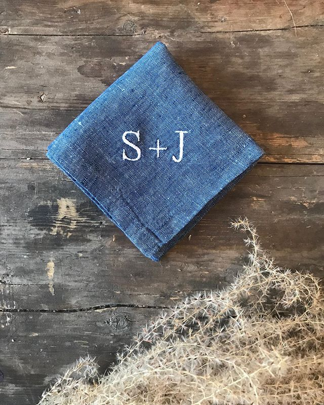 Monogrammed custom napkins are the perfect match for your pumpkin-spiced-cocktail. PSC! (Is that a thing?) Whether it's going to be on your sweetheart wedding table or at your Thanksgiving dinner, we think every custom piece deserves to be handcrafted with care. That's how we make sure your pieces last for years to come.