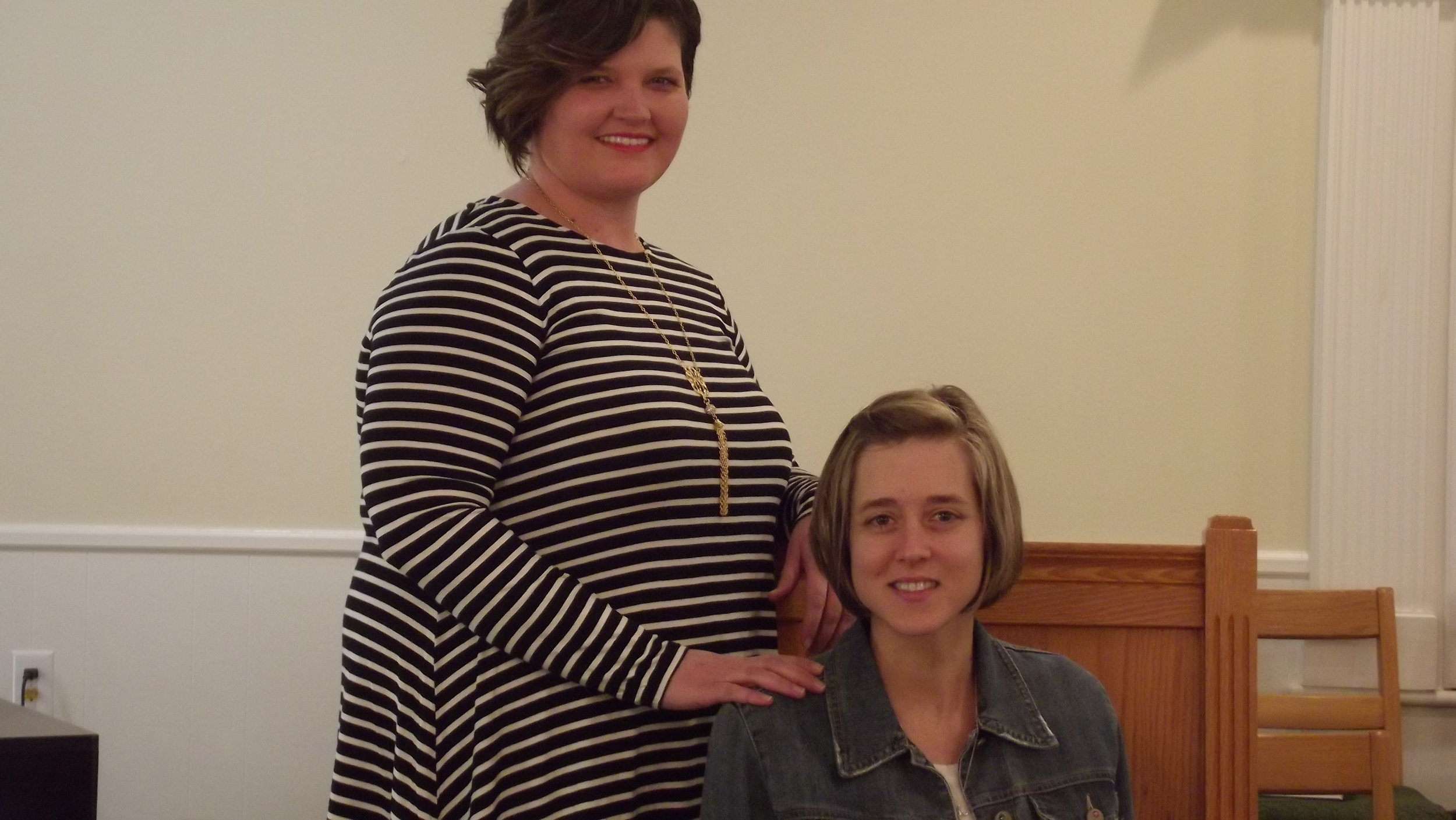 Courtney Taylor and Mrs Tiffany Youth Director's