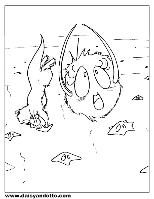 Daisy and Otto - Free Printable Coloring Pages - DO 2b.jpg