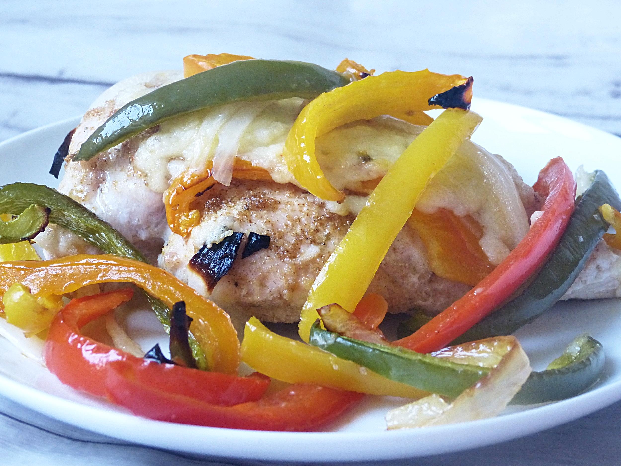 Baked Fajita Chicken -