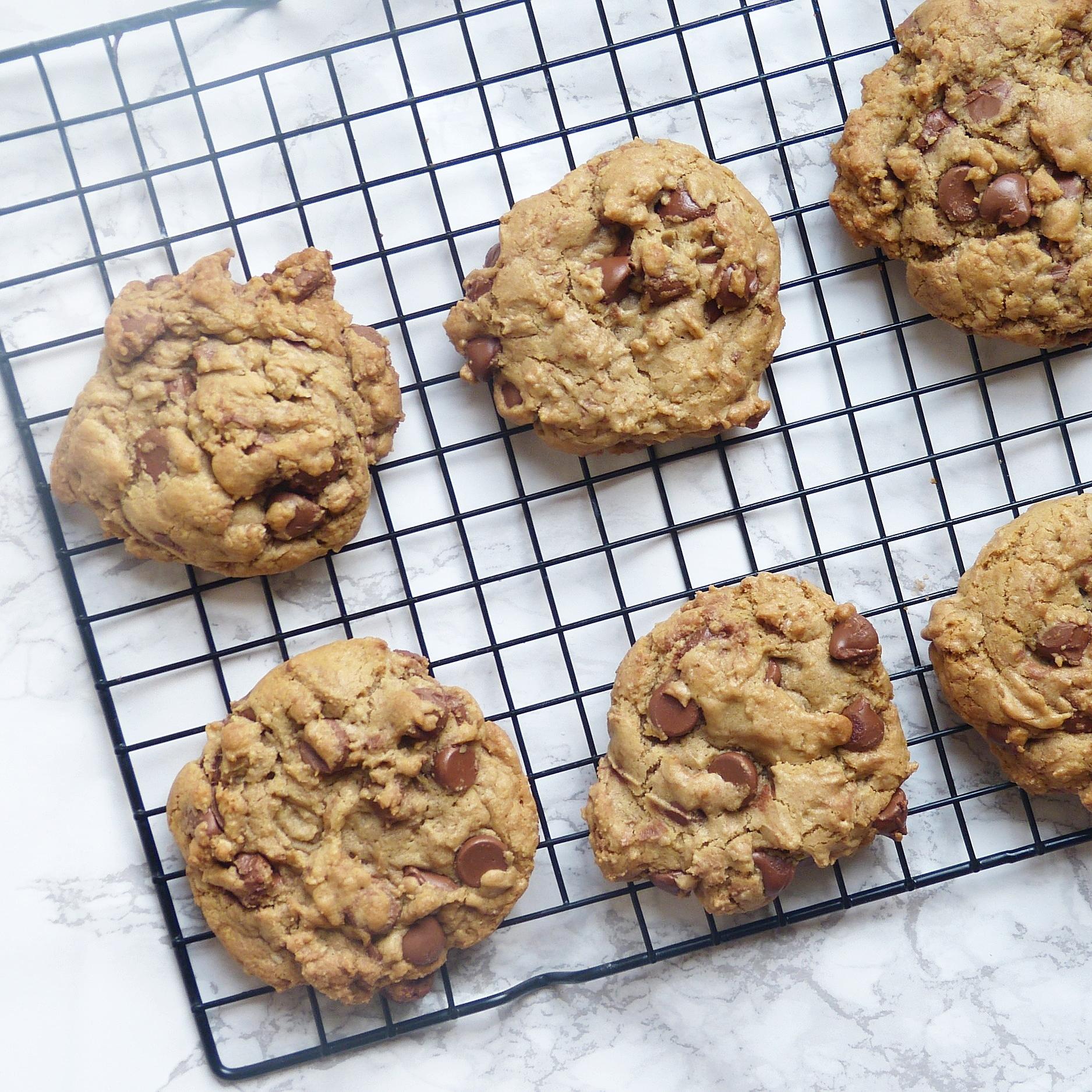 Oatmeal Chocolate Chip Cookies -