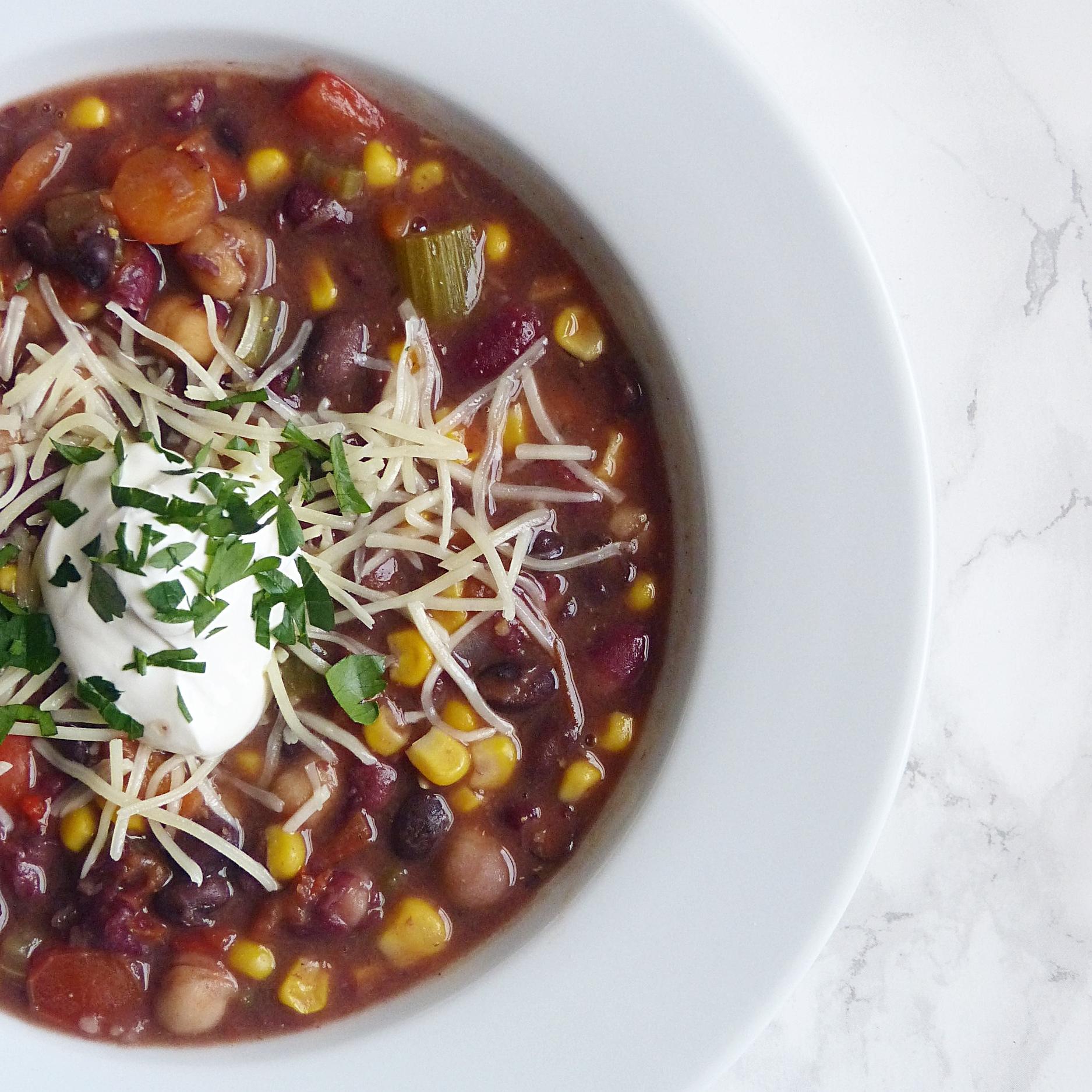 Vegetarian Chili -
