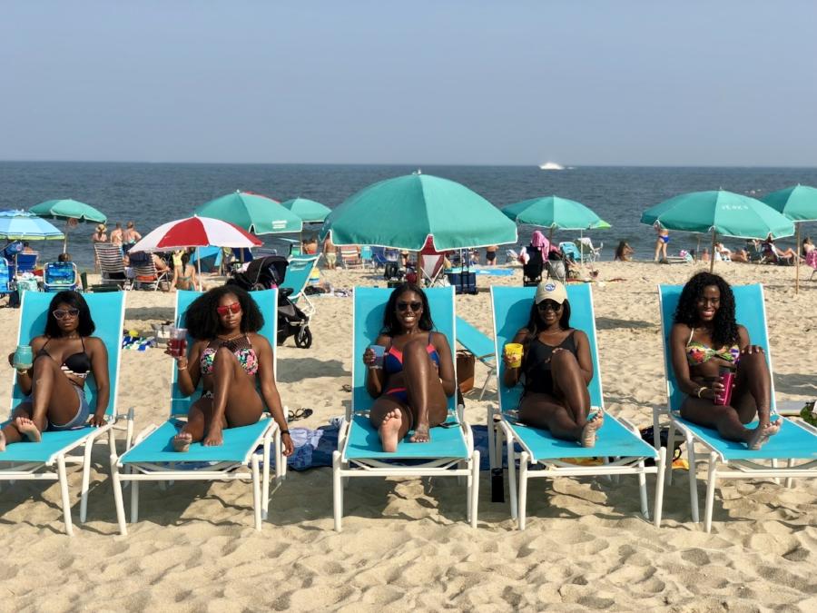 Post-exam beach trip