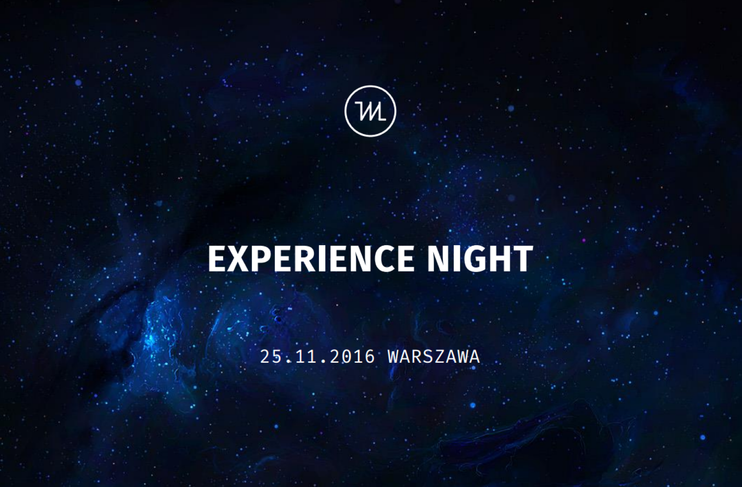 Experience Night conference - I had a pleasure and honour to create and organize a one-of-a-kind Lightning Talks conference on Experience Design