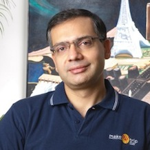 Deep Kalra    Chairman & Group CEO   MakeMyTrip    Read More >