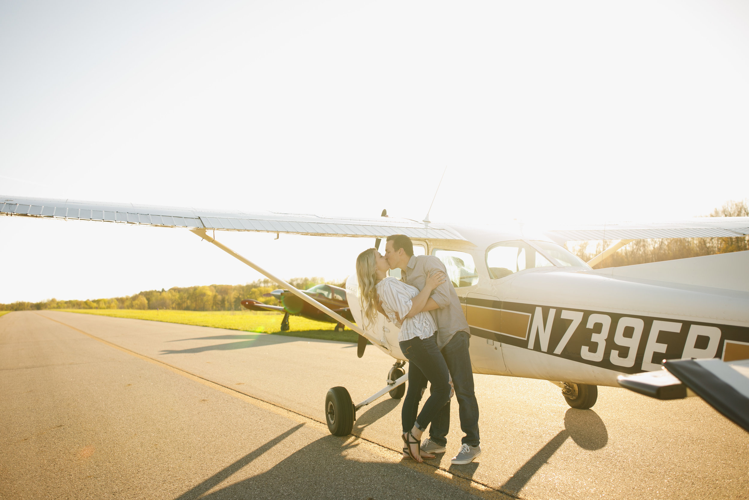 Grand Rapids Photographer - J Darling Photo - jessica darling - grand rapids wedding photographer - sparta airport - sparta michigan - jasmine and jeff engaged 020.jpg