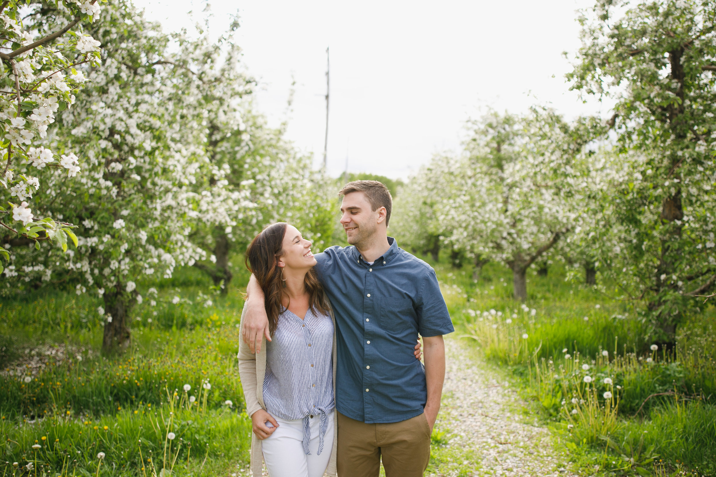 Grand Rapids Photographer - grand rapids wedding photographer - brian and katie engaged - apple blossoms - engagement session - jessica darling - sparta michigan - michigan wedding photographer- J Darling Photo001.jpg