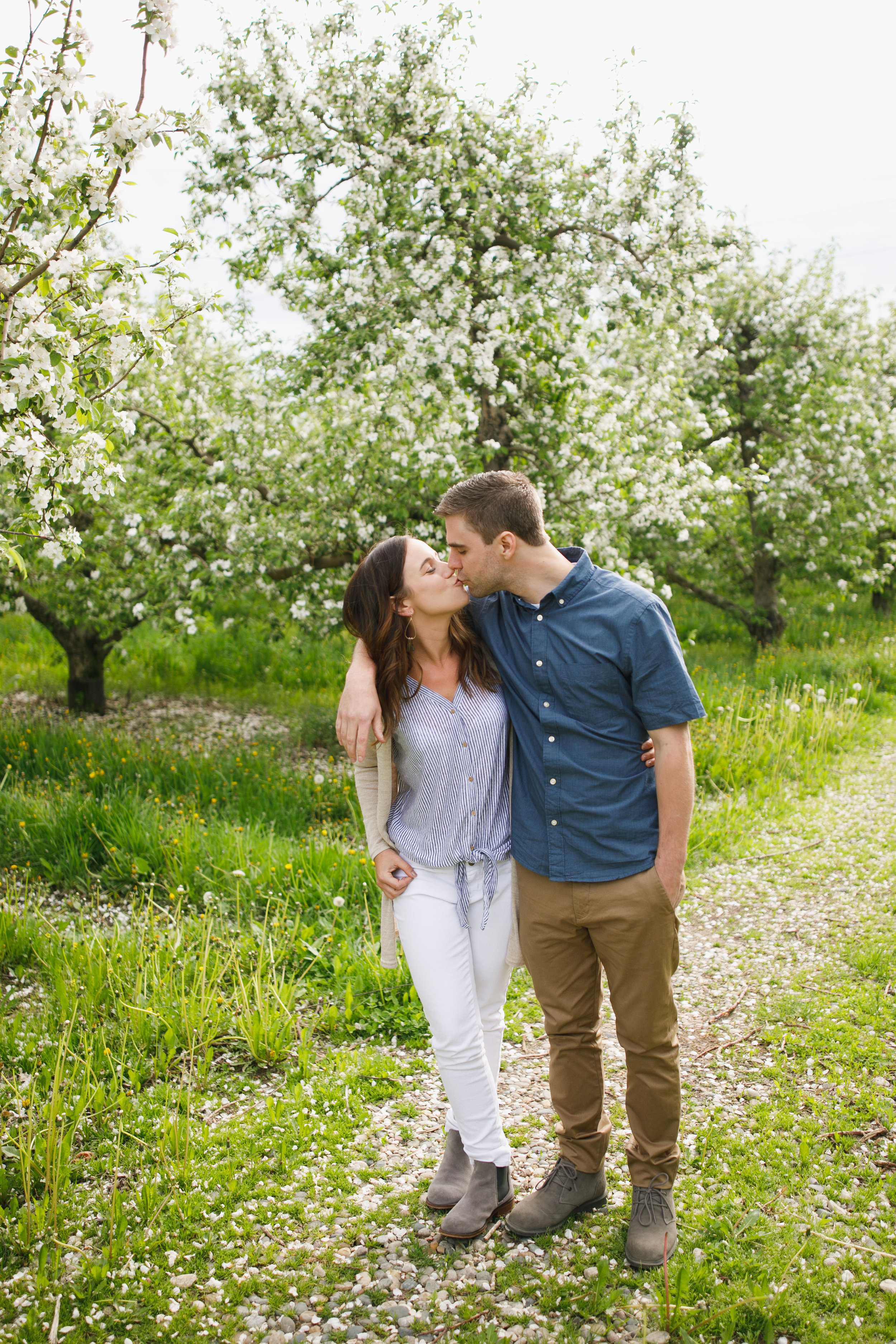 Grand Rapids Photographer - grand rapids wedding photographer - brian and katie engaged - apple blossoms - engagement session - jessica darling - sparta michigan - michigan wedding photographer- J Darling Photo002.jpg