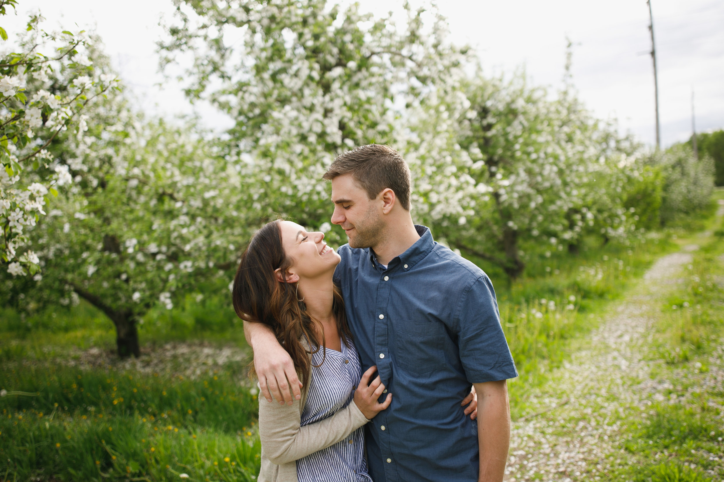 Grand Rapids Photographer - grand rapids wedding photographer - brian and katie engaged - apple blossoms - engagement session - jessica darling - sparta michigan - michigan wedding photographer- J Darling Photo003.jpg